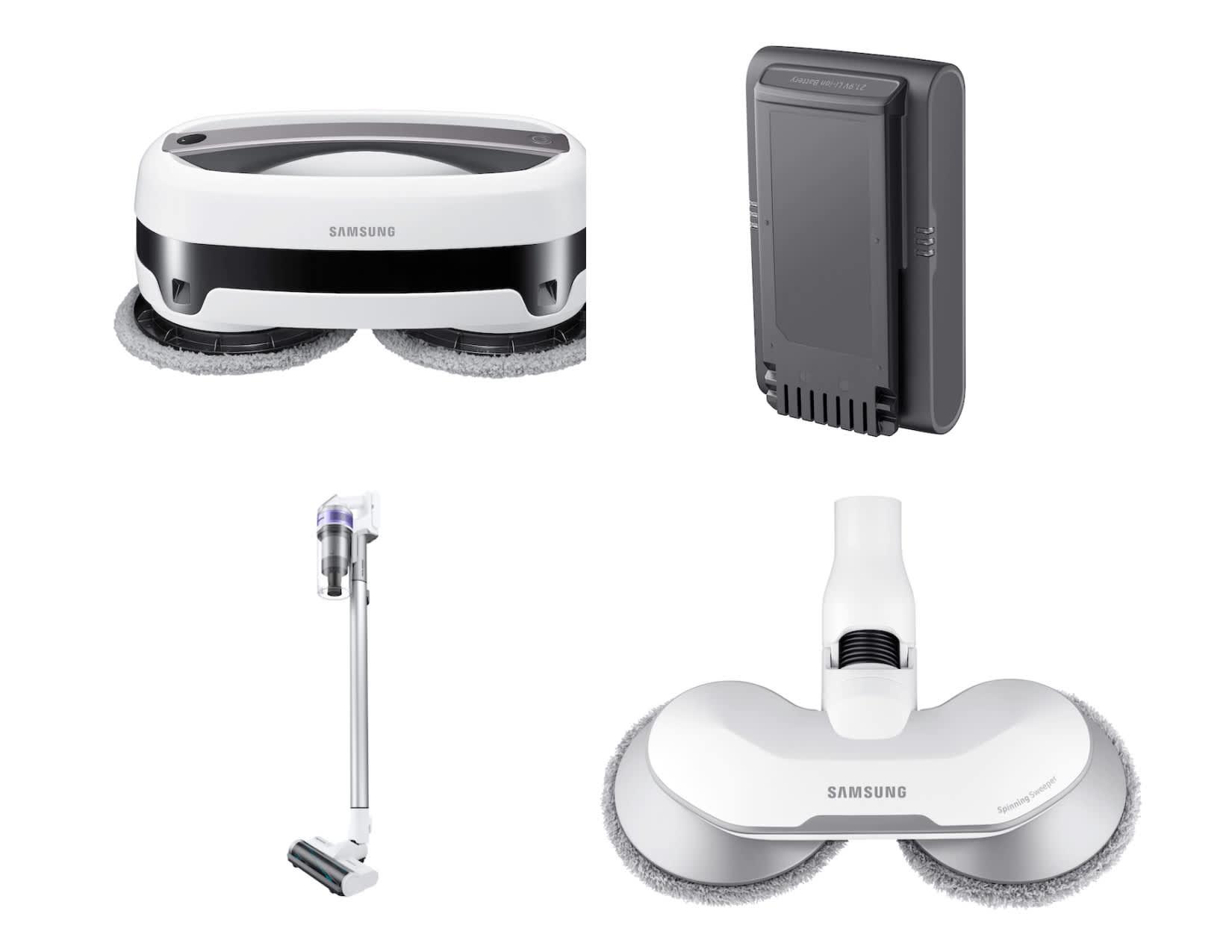 Samsung Jet Stick Vacuums, Jetbot Mops, & Accessories
