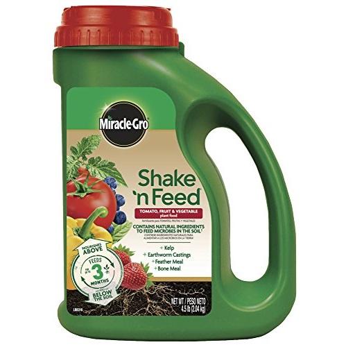 Miracle-Gro 蔬菜水果专用缓释化肥,4.5磅