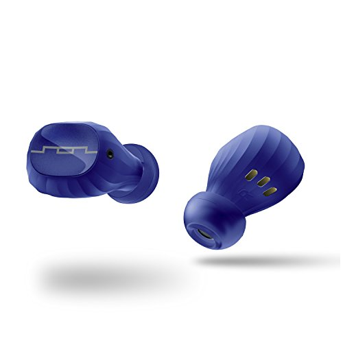 SOL REPUBLIC Amps Air 2.0 Waterproof Wireless Bluetooth Earbuds, blue