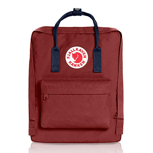 Fjallraven, Kanken Classic Backpack for Everyday, Deep Red
