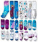 12-Pairs Disney Womens Frozen 2, 12 Days of Advent Box Socks