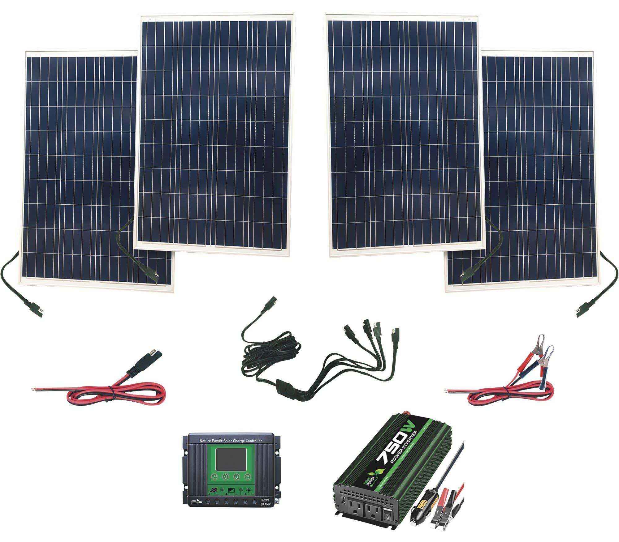 Nature Power 440-Watt Polycrystalline Solar Kit