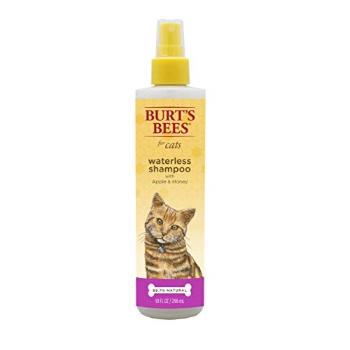 Burt's Bees for Cats All-Natural Waterless Shampoo with Apple and Honey