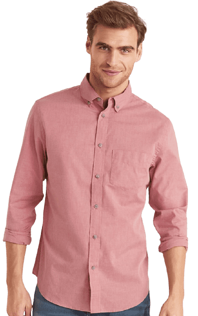 Old Navy Men's Slim-Fit Poplin Shirt