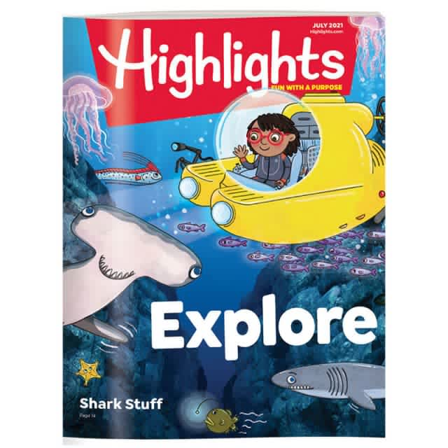 Highlights 1 Year Magazine Subscription