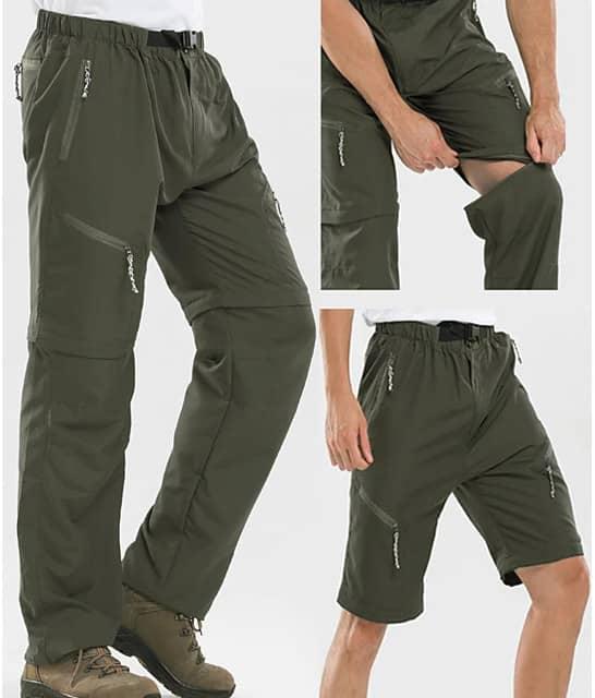 Men's Quick Dry Convertible Pants