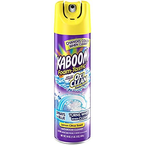Kaboom Foam Tastic Bathroom Cleaner with OxiClean Citrus