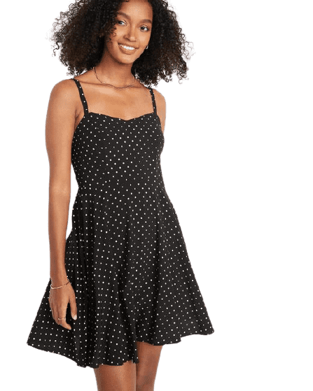 Old Navy Women's Fit & Flare Cami Mini Dress