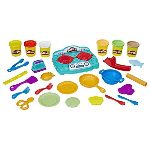 Play-Doh厨房炉灶橡胶泥套装