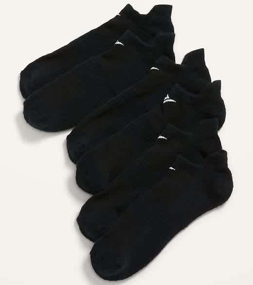 Old Navy Men's Go-Dry Ankle Socks 3-Pack