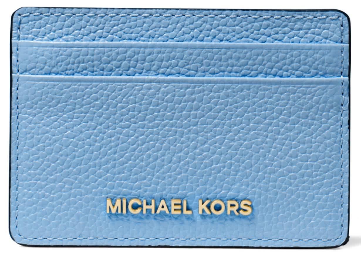 Michael Kors Pebble Leather Card Holder