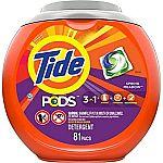 Prime Members: 81-Ct Tide PODS Liquid Laundry Detergent Pacs