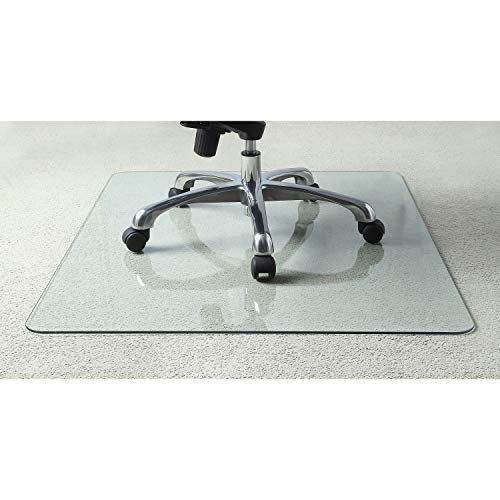 超赞!史低价!Lorell 钢化玻璃 座椅 垫,606吋款