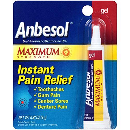 Anbesol 口腔溃疡止痛药膏,10g,现点击coupon后仅售