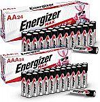 Energizer Max 24-AA + 24-AAA Batteries