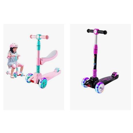 金盒特价! Sulives 3轮儿童可折叠滑板车