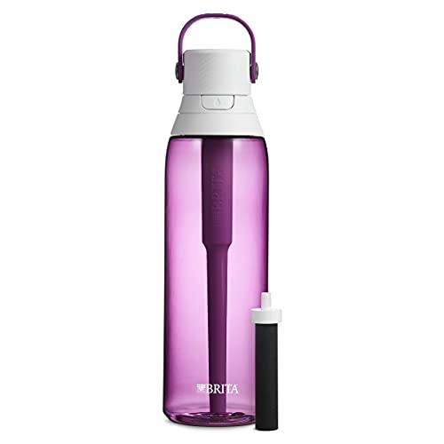 Brita Plastic Water Filter Bottle, 26 oz, Orchid, List Price is