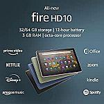 Amazon Fire HD 10 tablet $80,