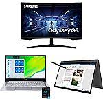"Prime Day Laptop Sale: HP 14-fq1021nr 14"" FHD Laptop (Ryzen 5 5500U 8GB 256GB SSD)"