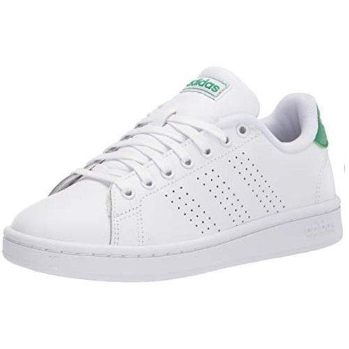 Adidas Advantage 男士经典 绿尾运动鞋