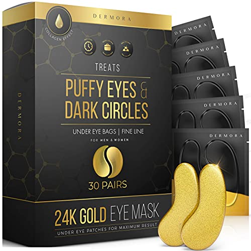 DERMORA 30 对24k黄金胶原蛋白眼膜