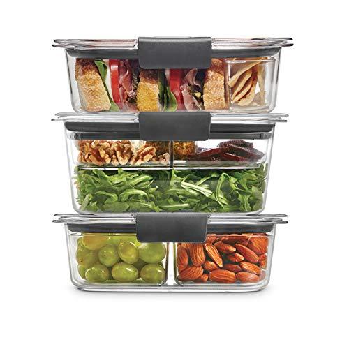 Rubbermaid Leak-Proof Brilliance Food Storage 12-Piece