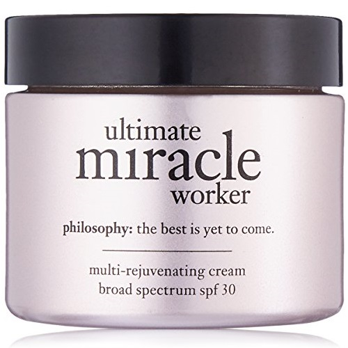 Philosophy Ultimate Miracle Worker Multi-Rejuvenating Cream for Women, Broad Spectrum SPF 30, 2 Ounce