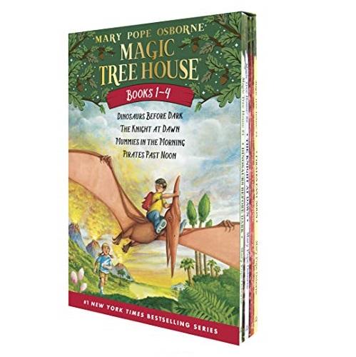 《Magic Tree House神奇树屋》1-4本合集