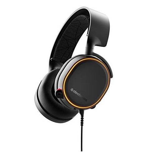 史低价!SteelSeries赛睿 Arctis 5 7.1 环绕立体声 游戏耳机