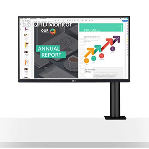 """LG 27QN880-B 27"""" QHD (2560x1440) Ergo IPS Monitor"""