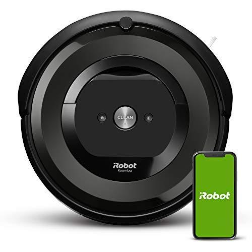 金盒特价! iRobot Roomba E5 智能扫地机器人,可连Wifi 支持Alexa,翻新