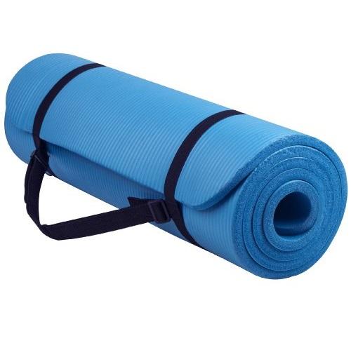 BalanceFrom GoYoga高级1/2英寸高密度防磨瑜伽垫