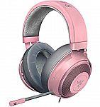 Razer Kraken Gaming Headset, Quartz Pink