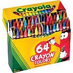 Crayola Markers, Assorted Colors, 12/Box