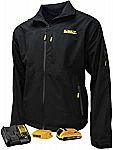 Dewalt Unisex Heated Structured Soft Shell Jacket Kitted (Large)