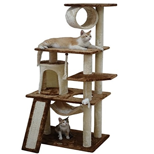 """Go Pet Club F712 53"""" Kitten Tree"""