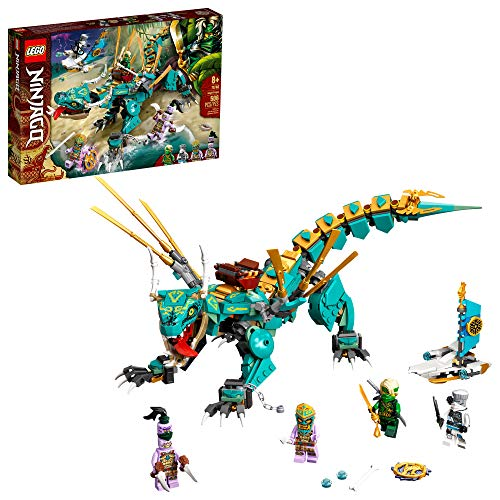LEGO NINJAGO Jungle Dragon 71746 Building Kit