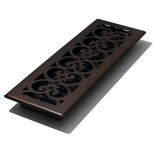 Decor Grates SPH414-RB Floor Register, 4x14