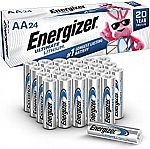 24-pack Energizer AA Ultimate Lithium Batteries