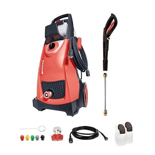 Sun Joe SPX3000-RED 2030 Max Psi 1.76 Gpm 14.5-Amp Electric Pressure Washer, Red, List Price is