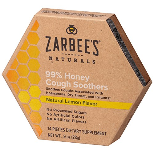 Zarbee's Naturals 99% Honey Cough Soothers