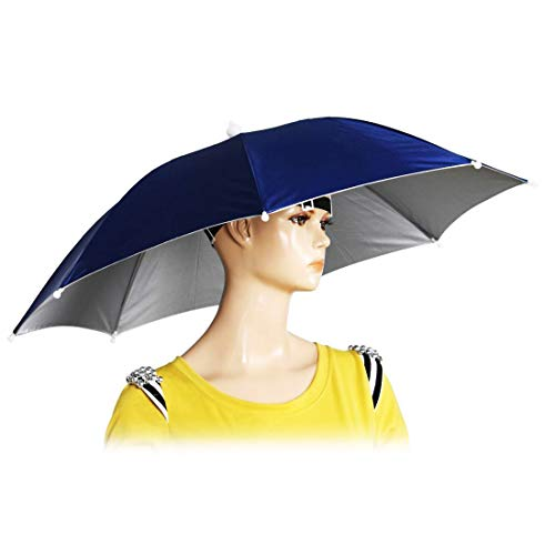 "Chinmor 26"" Diameter Elastic Band Headwear Umbrella"