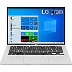 "LG gram 14"" 14Z90P WUXGA Laptop (i7-1165G7 8GB 512GB)"