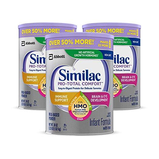 Similac Pro-Total Comfort Infant Formula