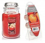 22-oz Yankee Large Jar Candle + 6-Pc Wax Melt Set