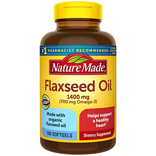 Nature Made Organic Flaxseed Oil 1400 mg