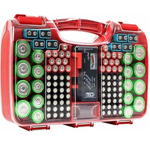 The Battery Organizer 电池收纳盒