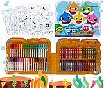 90-Piece Crayola Baby Shark Art Set w/ Storage Case