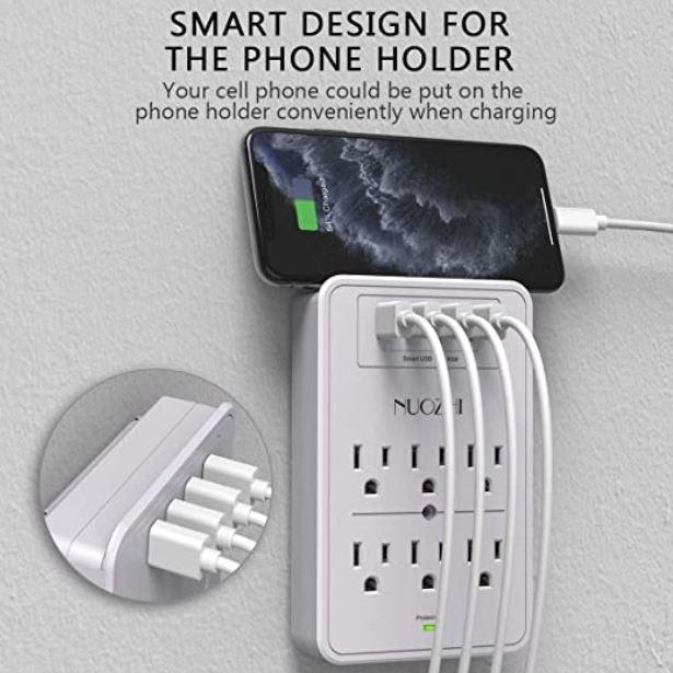 Multi Plug Outlet, NUOZHI Surge Protector