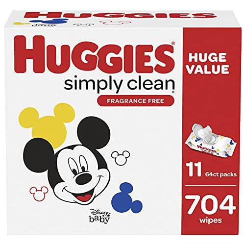 Huggies Simply Clean 无香型湿巾11袋